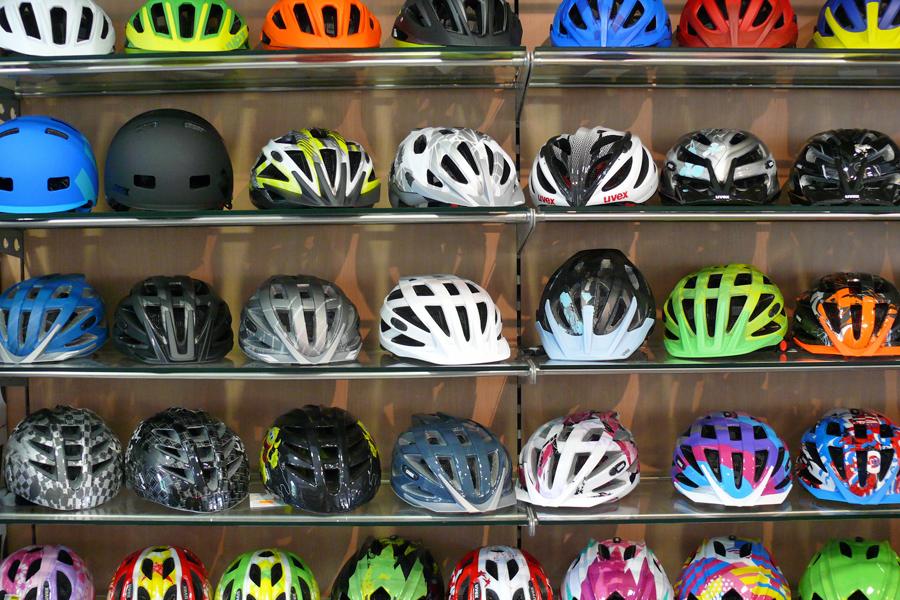 Safety first: Fahrradhelme
