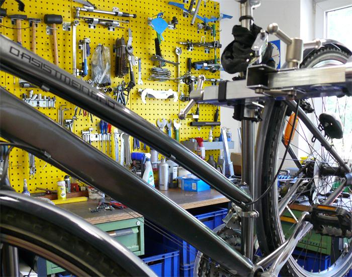Fahrradwerkstatt in Dresden Striesen