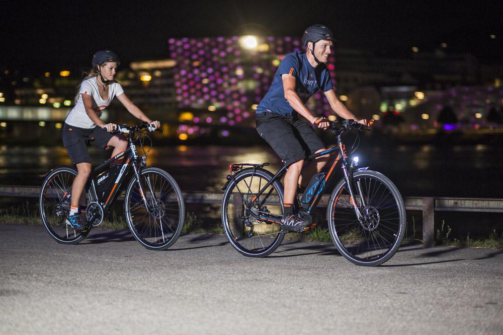 Stadterkundungen mit dem Citybike - Foto: ©KTM